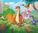 Littlefoot's Gang