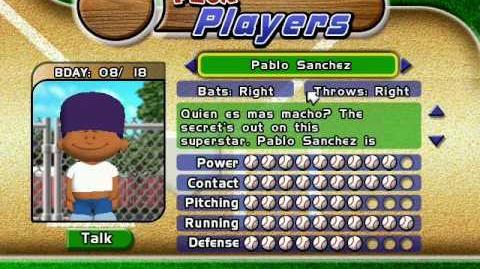 Backyard Baseball 2005 - Pablo Sanchez Theme-0