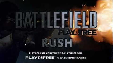 Battlefield Play4Free - Rush Trailer