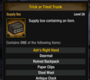 Trick or Treat Trunk