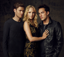 Klaus, Caroline, and Tyler