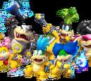 New Super Mario Bros. Wii Bosses