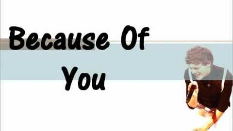 Because Of You by Louis Tomlinson Lyrics