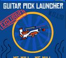 Guitar Pick Launcher