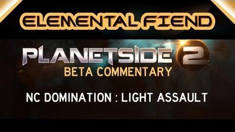 NC Domination - Light Assault Planetside 2 Gameplay Commentary
