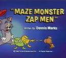 Maze Monster Zap Men