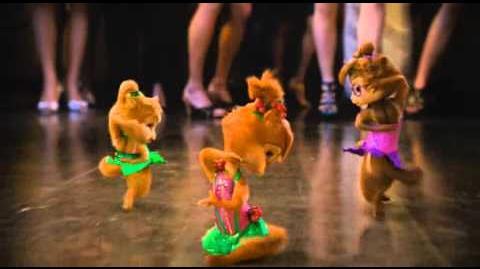 Chipettes Chipmunks We No Speak Americano, Conga