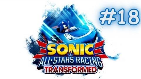 Sonic & All-Stars Racing Transformed - Playthrough World Tour ~ Part 18 - Gum, Metal Sonic & Gilius-0