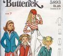 Butterick 5893 A