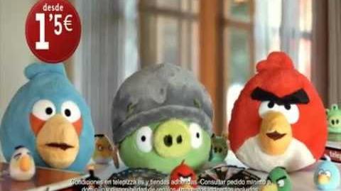 Llegan los Angry Birds a telepizza