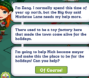 Mistletoe Lane Chapter 4 Quest