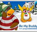 Be My Buddy postcard