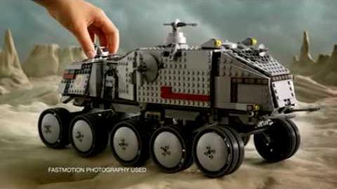2010 LEGO STAR WARS - Clone Turbo Tank