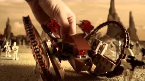 Lego Star Wars™ 7671 AT-AP Pod-Walker Commercial
