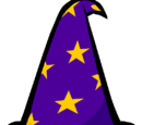 Purple Wizard Hat