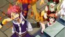 Natsu burns Flare's hair.png