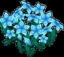 Cyan Flower Patch