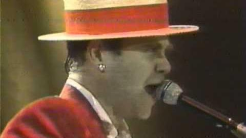 Elton John - Saturday Night's (Alright for Fighting) - Wembley 1984 (HQ Audio)