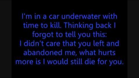 Car Underwater - Armor for Sleep Lyrics
