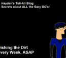 Gary the Gaget Dude/Hayden's Tell-All Blog: Post 1