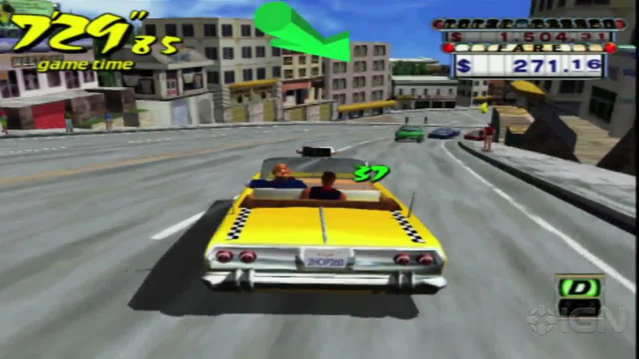 Crazy Taxi - All I Want