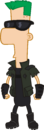 2nd Dimension Ferb Fletcher.png