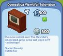 Domestica Viewtiful Television