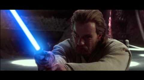 Anakin And Obi-Wan VS Count Dooku (1080p)