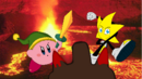 Ristar y Kirby vs Volcano.png