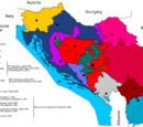 The 1991-2001 Yugoslav civil war (map game)