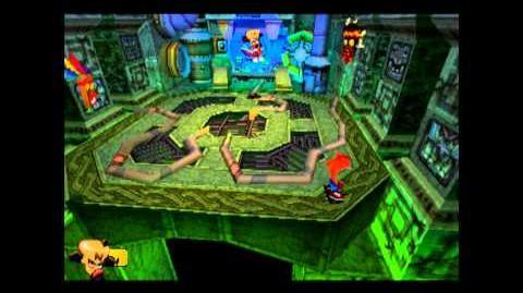 N. Cortex - Final Boss (Normal Ending) - Crash Bandicoot 3 Warped - 105% Playthrough (Part 27)