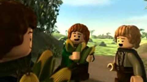 LEGO Władca Pierścieni odc.1 Początek opowieści film