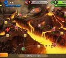 Flaming Volcano