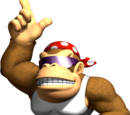 Locais de Funky Kong