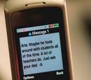"""Messages de """"A"""" dans la Saison 1"""