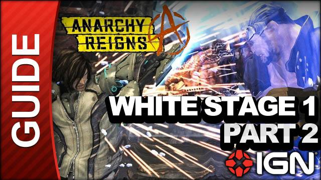 Anarchy Reigns (Max Anarchy) - White Stage 1 - Altambra Part 2 - Walkthrough