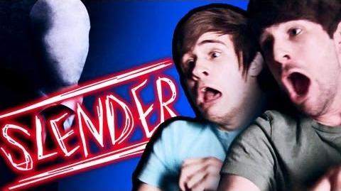 SLENDER MAN MAKES US CRY! (Gametime with Smosh)