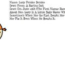 Lucy Fender Bender