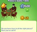 Pokey's Game Table