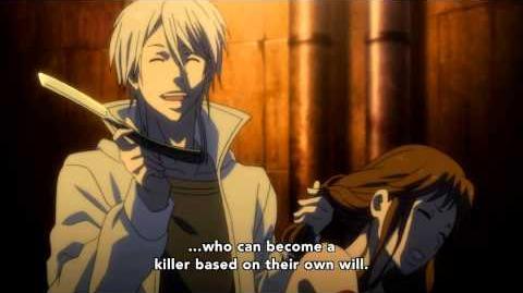 Psycho-Pass - Shogo kills Yuki