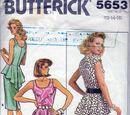 Butterick 5653 A