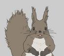 Red Squirrel Mama