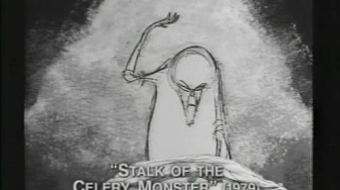 "Tim Burton's early short ""stalk of the celery monster"""