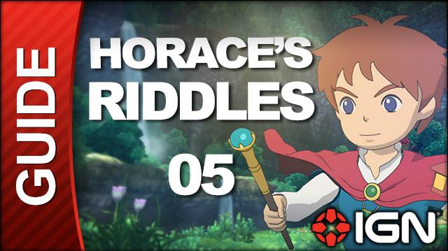 Ni No Kuni Wrath of the White Witch Walkthrough - Horace's Riddles Yule