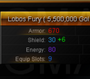 Lobos Fury