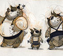 Kung Fu Panda concept artwork