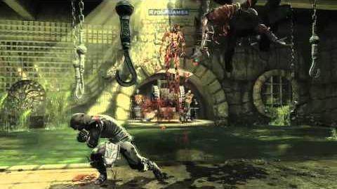 Mortal Kombat 9 (2011) Trailer Noob Saibot (MK9 Xbox 360 PS3)