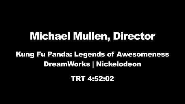 Michael Mullen Animatics 2013