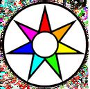 Emblema Fe circular arcoiris.png