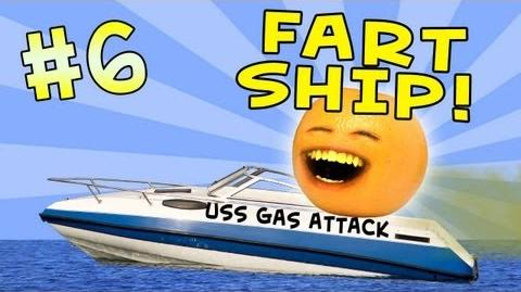 Annoying Orange - Ask Orange 6 Fart Ship!